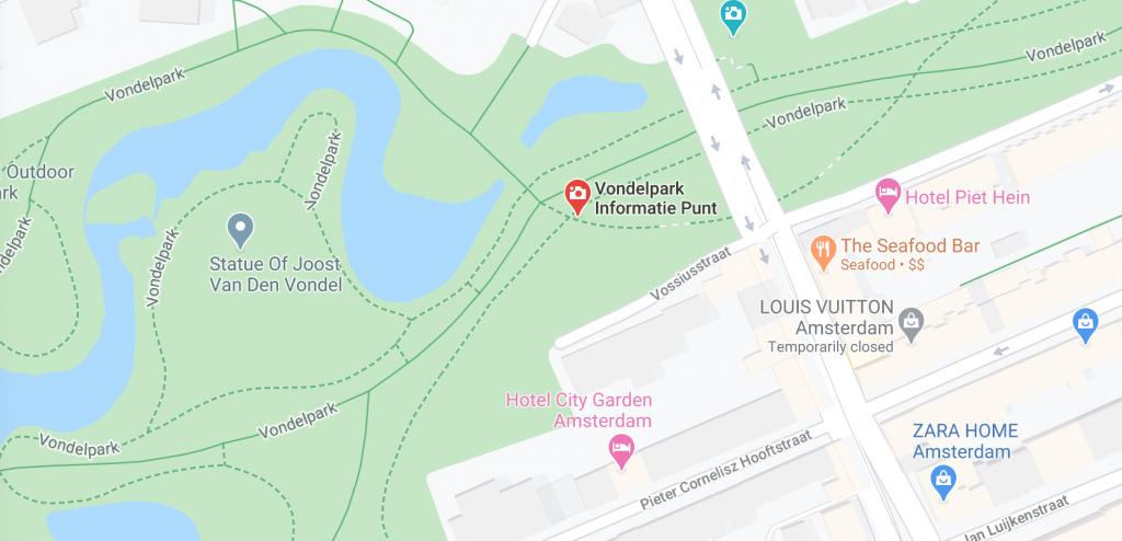 VIP-op-Googlemap